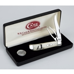 Natural Bone Mini Trapper with Golf Tool Gift Set