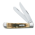 Amber Bone Trapper CV 163-Engravable