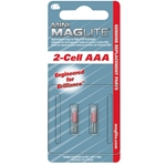 Mini MagLite AAA  Bulbs-2Pk