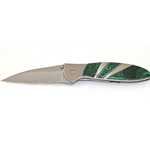 Kershaw Leek-Malachite-Plain Edge