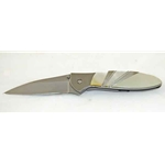 Kershaw Leek-Mother of Pearl-Plain Edge