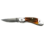 Ranger Series-Gentlemans Linerlock-Brown Jigged Bone Handles 7201