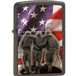 Zippo 3 Soldiers-No one is left behind