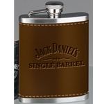 Jack Daniels Leather Wrapped Flask 5541