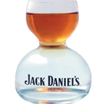 Jack Daniels Whiskey on Water Glass 8310
