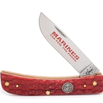 Marine Corps Dark Red Bone Sod Buster Jr 13180