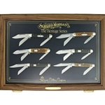 Schatt & Morgan 2012 Heritage Series 6 knives with Display Cabinet 4540