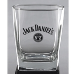 Jack Daniels Jsck Lives Here Double Old Fashioned Glass 5238
