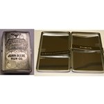 John Deere Money-Business Cards-Cigarette Case-Engravable 6953