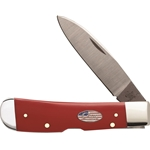 American Workman Red Synthetic Tribal Lock 13452- Engravable