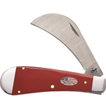 American Workman Red Synthetic Hawkbill Pruner 13456- Engravable