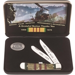 Vietnam Veterans Natural Bone Trapper 22040 - Engravable
