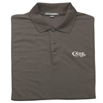 Case Grey Polo Shirt Medium 52499