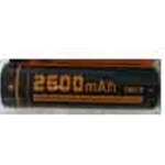 FiTorch 18650 Rechargeable Li-ion Battery 2600mAH RC260